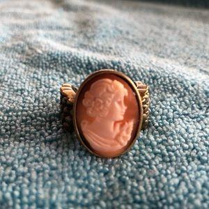 Amedeo NY cameo ring